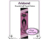 Bead Pattern Peyote(Bracelet Cuff)-Aristocrat