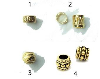 pick style: 4 dread beads