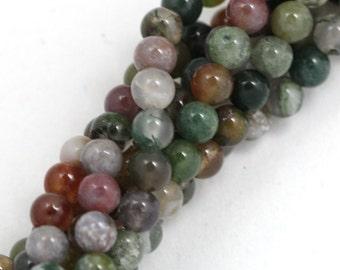 Fancy Jasper Beads - 4mm Round