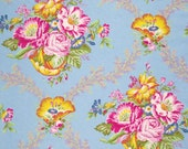 Vickie in Opal Jennifer Paganelli Fabric Good Company One Yard of Cotton Quilting Fabric