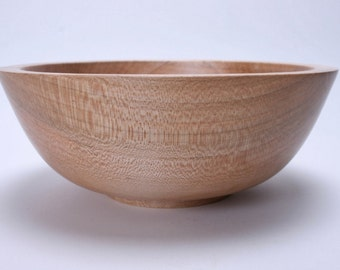 "Ambrosia Maple Wooden Bowl #1346 7 3/4"" X 3"""