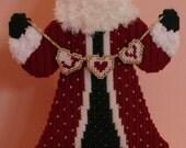 JOY Swag Santa Centerpiece