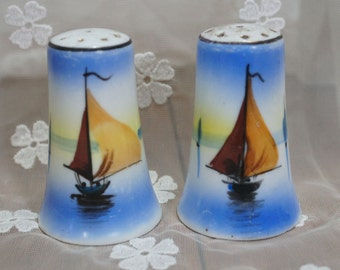 Vintage Salt and Pepper Shakers Made in Japan
