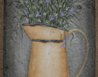 Pitcher with Herbs