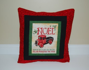 Christmas Pillow, Toy Shop, Christmas Red, Holiday Decor