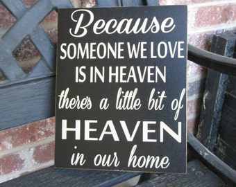 Inspirational quote- Heaven board