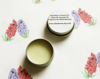 Hyacinth Scented Natural Perfume - Cologne - Perfume Samples - Coconut Oil - Avocado Oil - Beeswax