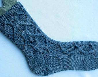 Knit Sock Pattern:  Aristophanes Favorite Sock Knitting Pattern