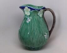 Arts and Crafts Pitcher - Flower Pitcher - Decorative Pitcher