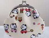 Free Shipping - Handmade Coin Purse Happy Panda Olayground