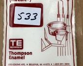 533 WHITE - My Favorite Sgraffito Liquid White - 8 oz Dry Powder Form Liquid Enamel
