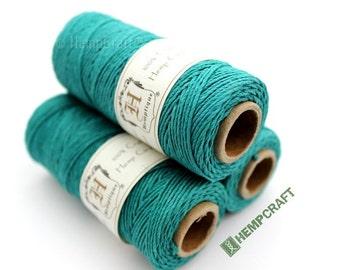 1mm Hemp Twine, Meadow Green, High Quality Hemp Craft Cord