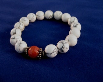 Yoga or Meditation Bracelet:  Root Chakra