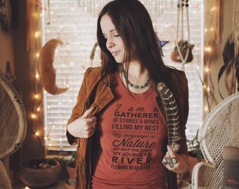 The Gatherer Tee - Womens