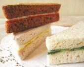 NEW Felt Tea Sandwiches