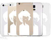 Adventure Time Marshall Lee Clear Phone Case Apple Android