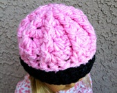 Textured Crochet American Girl Hat Ready to Ship