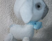 White Felt Lamb Plushy
