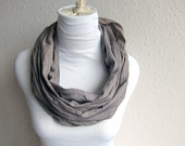 hand dyed Linen Scarf, Beautiful handmade in Linen Cotton Scarf for Women and Men ....Shawl, Khaki, Taupe Gray, blue