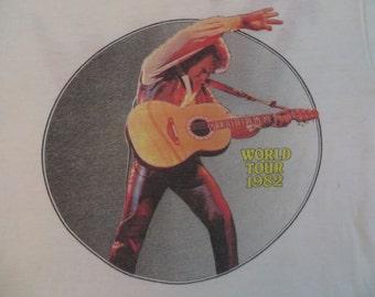 NEIL DIAMOND 1982 tour T SHIRT