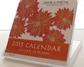 2015 Mini Desktop Calendar