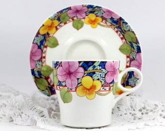 Japanese Mikasa Laureate Teacup and Saucer - 11861