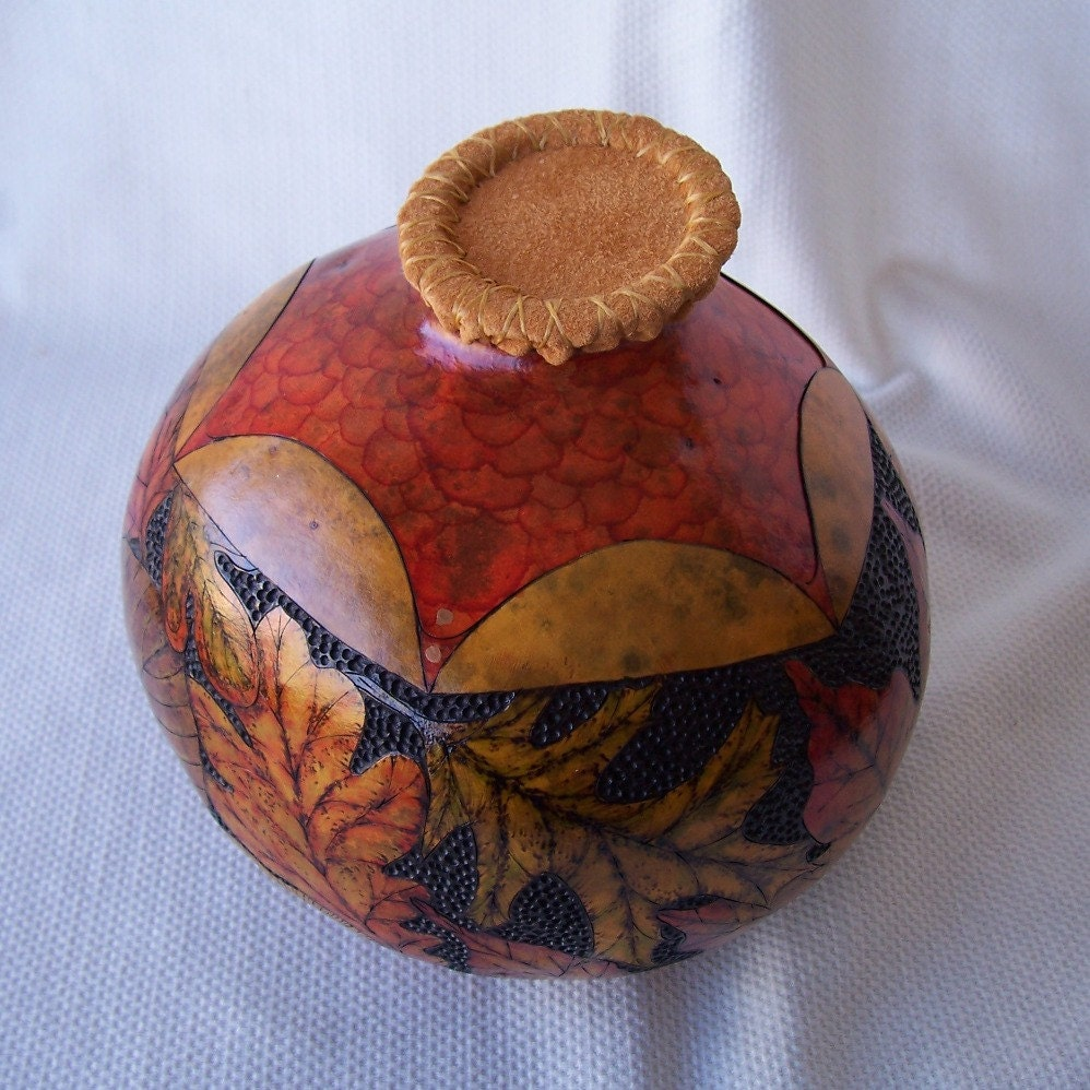 how to clean an old gourd