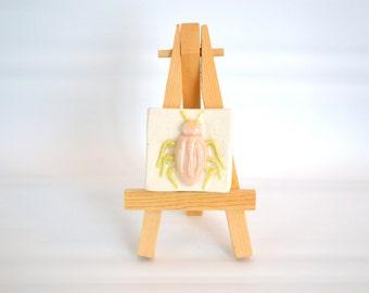 Mrs. Beetle - 2 x 2 Tile with Easel