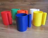 Retro Stackable Cups - Colorful Cups