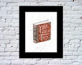 Your Word is Truth - John 17:17 Color Print