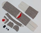 Sock Monkey Kits No Sewing Machine Required