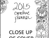 2015 Creative Planner 1 Page Per Day 5.5 x 8.5