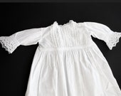 Vintage French Christening Gown Pretty and refined