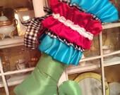 Custom Fabulous Holiday Stocking