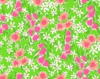 Fiesta Green Lilly Pulitzer Inspired Skirt