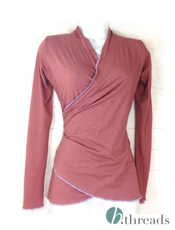 Yoga Wrap Shirts 110