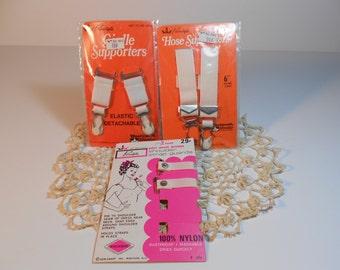 lot of vintage lingerie supplies