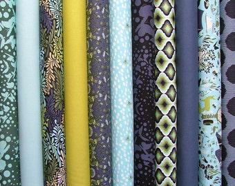Moon Shine Fat Quarter Bundle of 11 by Tula Pink for FreeSpirit