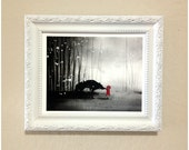 Little Red Riding Hood First Touch Giclee Print 8x10 inch RESERVED for chantel