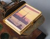 Vintage miniature small book, souvenir from Russia Leningrad