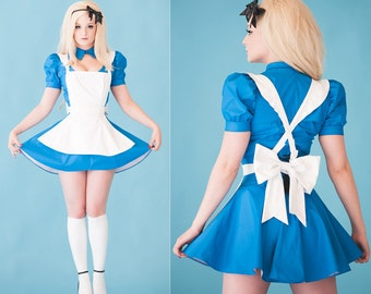 S PVC Alice in Wonderland Costume from Artifice Clothing