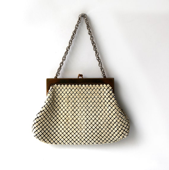 Vintage Whiting And Davis Mesh Purse 70