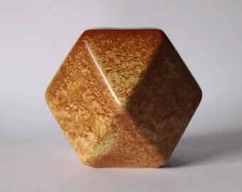 Modernist Rare Shape Italian Vase - Bertoncello