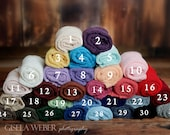 Baby Stretch Wraps, Many Colors, RTS, Stretch Newborn Wraps, Stretch Knit Wraps, Baby Photo Props, Boy Photo Prop, Baby Girl Wraps, Boy Wrap