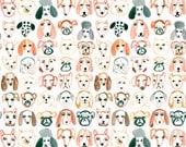 A4 Dog Pattern Print