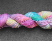 Hand-dyed Kaleidoscope Worsted / 10-Ply Yarn - 100% Superwash Merino Wool