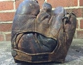 Vintage D&M Leather Baseball Glove