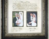 Personalized Wedding Gift for Parents, Today Is A Celebration, Parents Gift, Bride Groom, Parents of the bride, Parents of the Groom 16X16