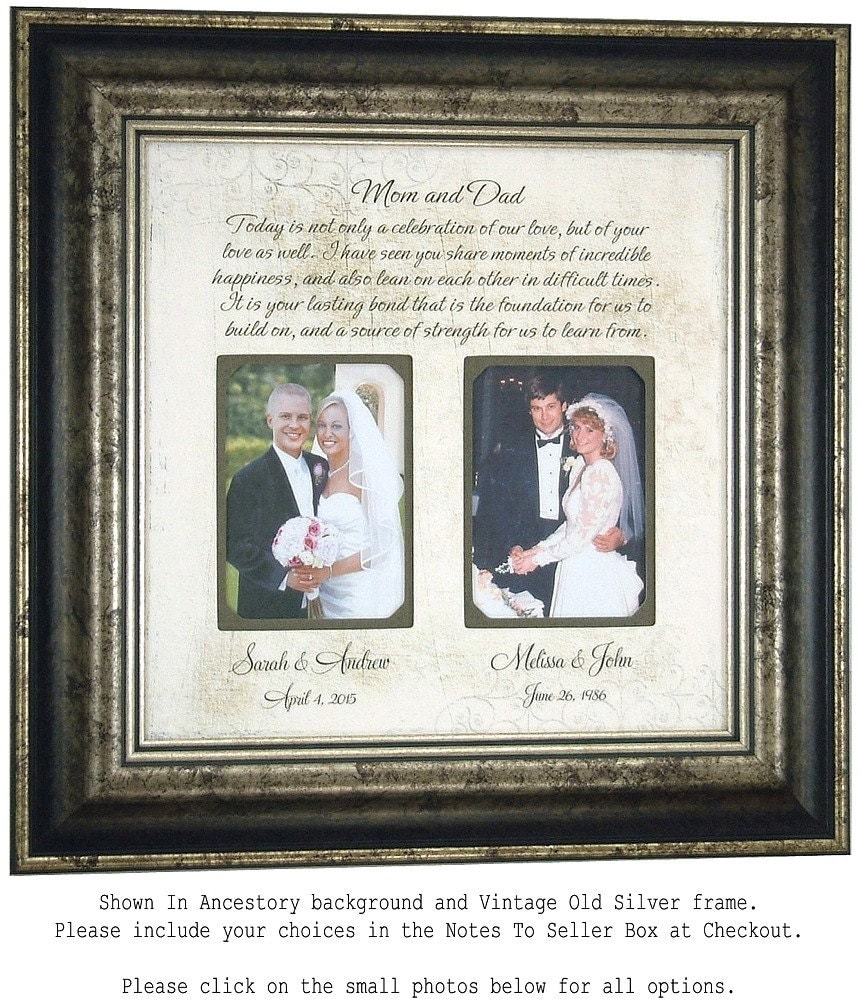 Personalized Wedding Gifts For Parents: Personalized Wedding Gift For Parents Today By