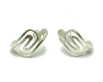 E000513 Sterling Silver Earrings 925